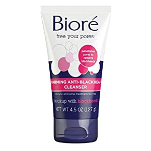 Warms to open pores and stop breakouts before they start Soothing cleanser removes impurities with acne-fighting salicylic acid Controls blackheads and blemishes while preventing future breakouts Removes over 90% of dirt and oil from skin's surface. ...