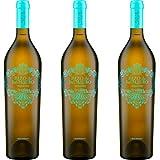 Pazo San Mauro Vino Blanco Albariño - 3 botellas x 750ml - total: 2250 ml