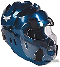 ProForce Thunder Full Headgear w/ Shield - Blue - Medium