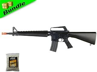 BBTac BT-BT16A2-+1000BB M16A2 Package Vietnam Style Spring Airsoft Gun Rifle with 1000 Ball Bearing
