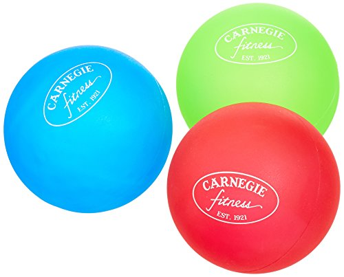 Carnegie Hand Trainer Finger Trainer 3 X Terapia Ball Finger Hand Anti Stress Palle