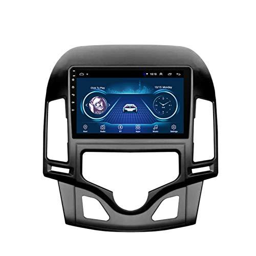 Dscam Car Stereo Android 9.1 Car Radio de navegación GPS para Hyundai i30 2006-2011 9 Pulgada Pantalla LCD Táctil USB WLAN 4.0 Bluetooth Llamadas Manos Libres,2G+32G-Quad-Core