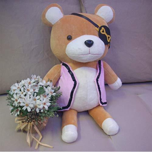 Ruiodr 52 cm Diabolik Liebhaber Sakamaki Kanato Teddybär Plüschtier Weichbär Kuscheltier Puppen Cosplay Kinder Geschenk