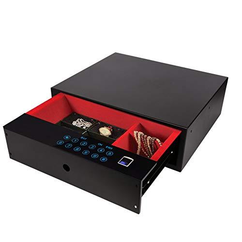 YMN Medium Digital Safe, LCD-scherm, met Full-cijferige toetsenbord en vingerafdruk ontgrendelen, voor thuis, kantoor, hotel