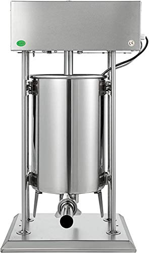 ZZTX Insaccatrice elettrica per Salsicce Riempitrice per Salsicce da 30 Litri Insaccatrice per Carne Verticale Macchina per ins