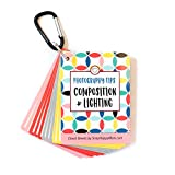 Photography Tips: Composition & Lighting Cheat Sheet Cards   Pocket-Sized Quick Reference Cards for Beginners   Snap Happy Mom (Bright)