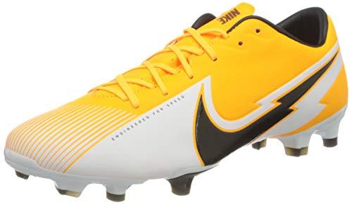 Nike Unisex Vapor 13 Academy Fg/Mg Fußballschuhe, Laser Orange Black White Laser Orange, 40.5 EU