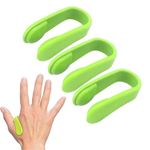 3PCS Kopfschmerz-Druckclip Akupressur-Set, Migräne-Linderung Natürlicher Spannungsabbau Tragbare Akupressur Anti Stress Fingermassage.