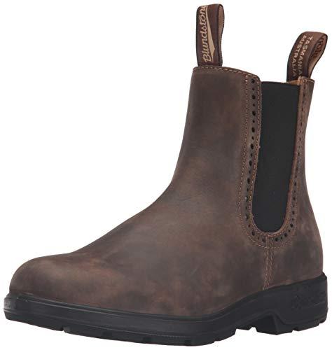 Blundstone Women's 1351 Chelsea Boot, Rustic Brown, 5 UK/8 M US