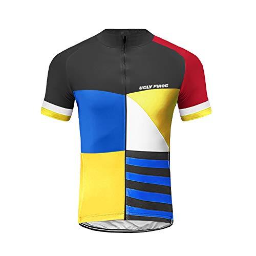 Uglyfrog Stagione Estiva Uomo Sport e Tempo Libero Abbigliamento Ciclismo Magliette Manica Corta