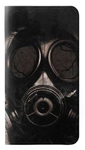 Innovedesire Gas Mask Flip Hülle Tasche Klappetui für Samsung Galaxy S10 5G