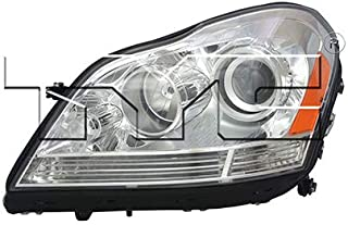 CarLights360: Fits 2007-2012 Mercedes-Benz GL450 Headlight Assembly Driver Side (Left) DOT Certified w/Bulbs Halogen Type - Replacement for MB2502202
