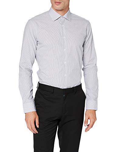 Seidensticker Herren Business Hemd - Bügelfreies Hemd mit sehr schmalem Schnitt - X-Slim Fit - Langarm - Kent-Kragen - 100{1aa2eb48ac81d934c4f8adbad6fbdf1dd739d3089ce860b97cf2251492a7479d} Baumwolle