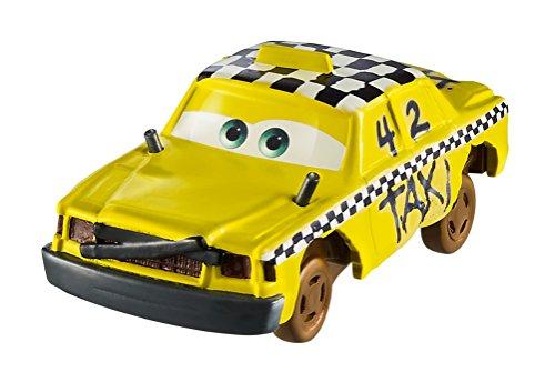 Disney Pixar Cars Voiture Crazy 8 Crasher Rétro friction, Faregame véhicule fou cabossé, jouet pour enfant, DYB09