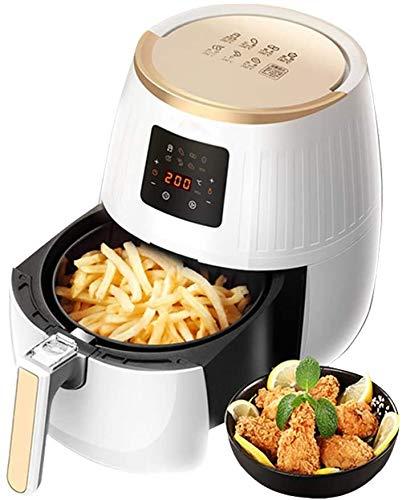 XYUN Air Fryer, 3.2L grote capaciteit Touch Screen thermo Digital lucht Fryer Oven, geen olie pan, met 6 Koken presets en recepten, Afneembare non-stick Basket 1500W