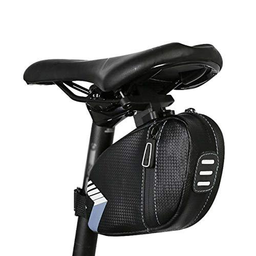 SACOCHES de Selle VéLo, de Selle de Bicyclette, de Selle VTT Sac de Queue de Selle ArrièRe Mounta Accessoires de VéLo, 18.5X5X10.5Cm,Blue