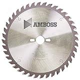 Amboss - Lama per sega circolare da tavolo HM per legno, Ø 254 mm x 2,8 mm x 30 mm, adatt...