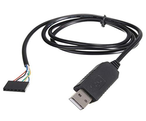 TECNOIOT 6Pin FTDI FT232BL USB To Serial Adapter Module USB TO TTL...