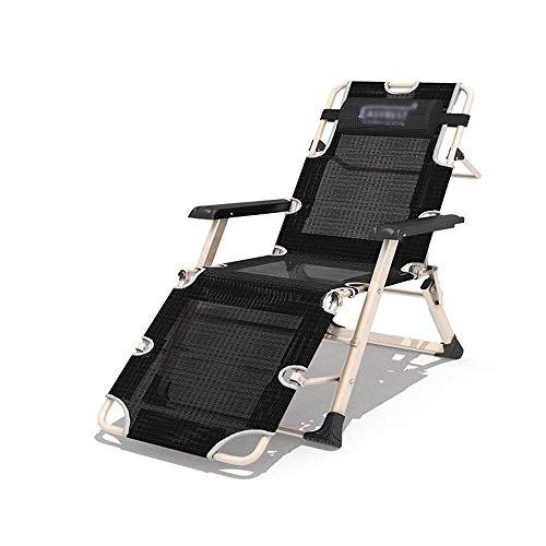 ZHUAN Liegestuhl Liegestuhl Liegestuhl, Schwerelose Liegestuhl mit Massage Armlehne für Garden Beach Camping Garten Angeln Liegestuhl Mittagspause Lazy Couch Rückenlehne Lounge Chair