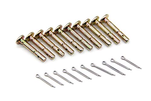 Pro-Parts 10 PK 738-04124 738-04124A Replacement Shear Pin Kit for MTD 300/500/600 Series 2 Stage Snow Throwers