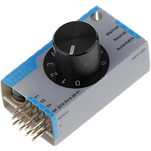 ICQUANZX Hochpräzise Motor Servo Tester ESC Li Po Batterie 1S 4S Für RC Flugzeuge