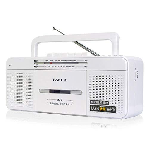 HARMON High-Fidelity-Kassettenrekorder, Retro-Radio-Kassettenrekorder Und -Recorder Mit Analoger AM/FM-Abstimmung, 3,5-Mm-Kopfhörerbuchse,Chrome