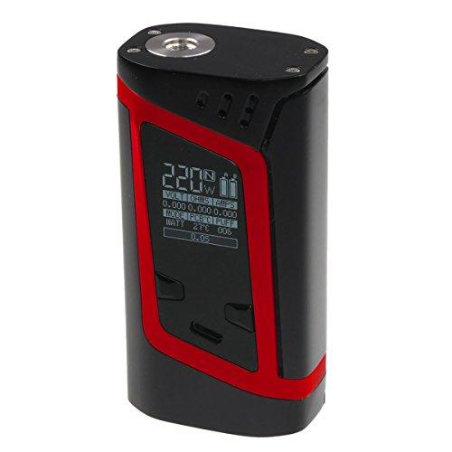 Riccardo Alien Box MOD (220 Watt, SMOK e-Zigarette - Akkuträger) schwarz-rot, 1 Stück