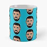 Depress Sad Tears Sniffing Crying Ovo 69 Drake Best 11 Ounce Ceramic Coffee Mug ! Customize