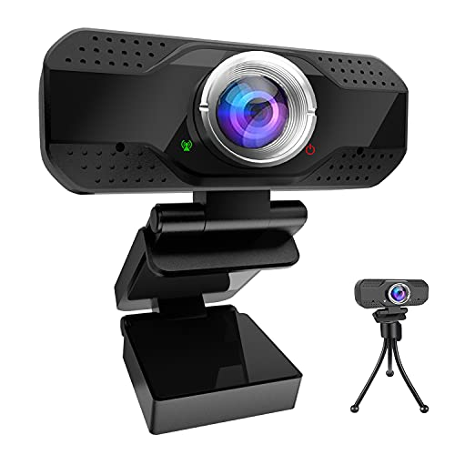 Webcam with Microphone HD 1080P, Al…