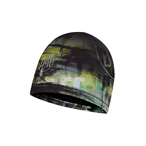 Original Buff Micro & Polar Hat Child W-Paint Multi-Mütze, Unisex, Erwachsene, Aqua, Einheitsgröße