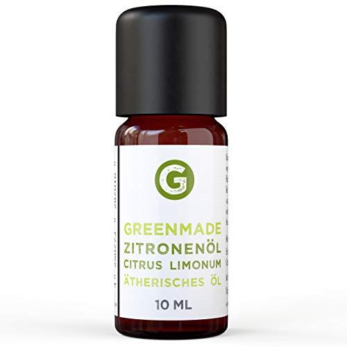 Zitronenöl (10ml) - naturreines, ätherisches Öl von greenstyle