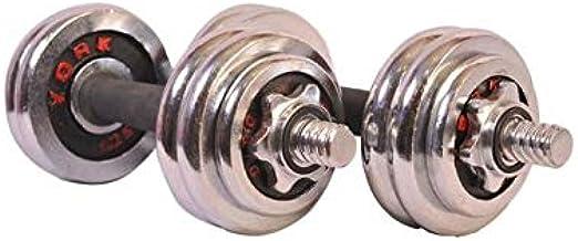 Pro Hanson Chrome Dumbbells - 20 Kg