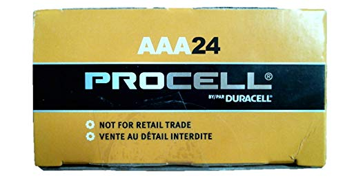 Duracell PC2400 Procell AAA, 24 Count (Pack of 1)