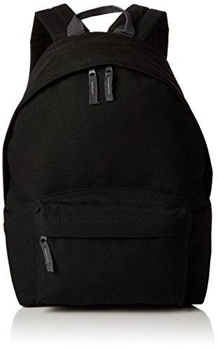 BagBase Junior Fashion - Mochila, Talla única, Color Negro