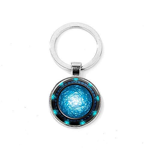 Stargate Portal Atlantis Llavero hecho a mano con imagen de...