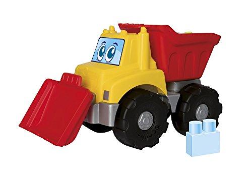 Jouets Ecoiffier -7819 - Camion de TP garni de briques Abrick Maxi – Jeu de construction pour enfants – 16 pièces – Dès 12 mois – Fabriqué en France