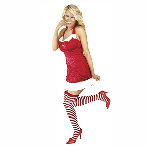 Generique - Costume Mamma Natale Sexy provocante Donna Taglia UnicaCostume Mamma Natale Sexy provocante Donna Taglia Unica