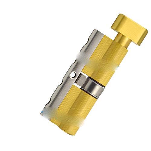 Cilindro de cerradura de puerta antirrobo antirrobo de clase C de calabaza grande, cilindro de cerradura de llave universal