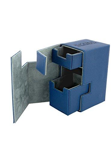 Ultimate Guard UGD010224 - Flip und Tray Deck Case 80+, Xeno Skin, Standardgröße, blau