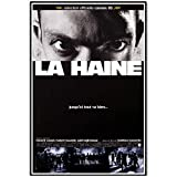 GUICAI La Haine 1995 Classic Vintage Movie Film Negro Blanco Poster Art Light Canvas Home Room Impresión de Pared Decoración -50X70 cm Sin Marco 1 Uds