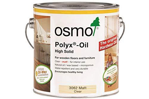 Osmo 3062 Polyx Hartwachs-Öl, transparent, matt, 2,5 l