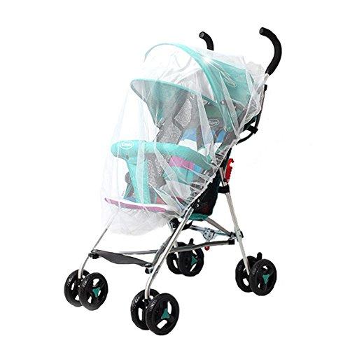 Domybest - Funda universal para cochecito de bebé, mosquitera para cochecito de bebé