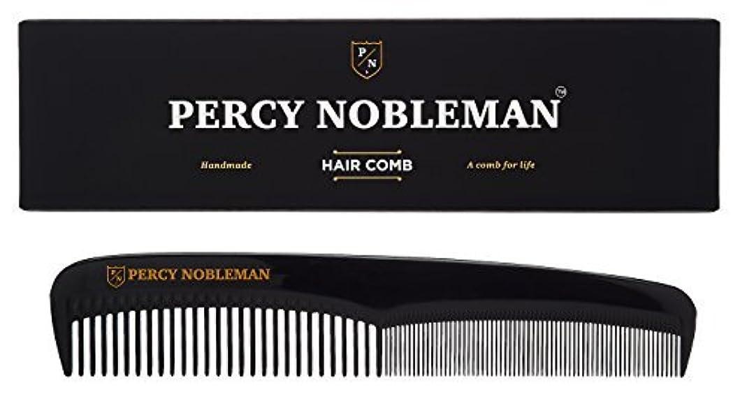 気づく十二不完全なPercy Nobleman Hair Comb (Black) [並行輸入品]