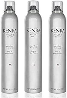 Kenra Volume Spray 25 16oz 3 Pack