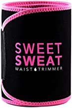 Womens Sweat Waist Trainer Workout Waist Trimmer for Women and Men Sweat Belt Adjustable Stomach Wraps for Weight Loss,Tum...