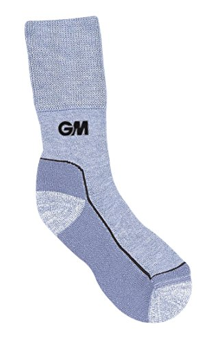 GM Cricket Herren Cricket Socken, grau, Size 6-13