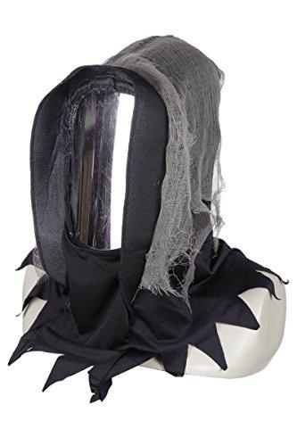 Wilbers Kostüm Zubehör Maske Spiegel Gesicht Halloween Geist Gespenst Dämon