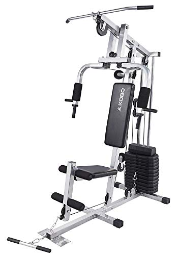 Kobo Multi Home Gym Exercise Square Pipe Tonning Body Building Work Station Strength Machine