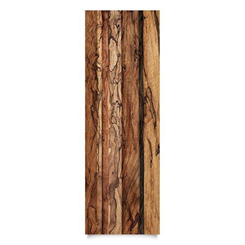 Möbelfolie Holz Holzwand Flamed HolzDekorfolie DIY Aufkleber 50 x 100cm