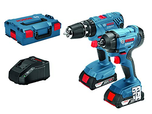 Bosch Professional GSB 18 V-21 + GDR 18 V-160 Combi and Impact Driver